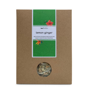 Lemon Ginger Eco Pack 17 Plastic Free Tea Bags