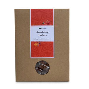 Strawberry Rooibos Eco Pack 17 Plastic Free Tea Bags