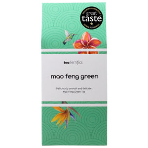 Mao Feng Green Tea Bags - Smooth & Mellow Green Tea