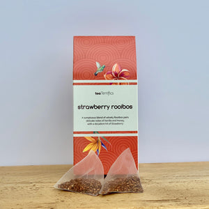 Strawberry Rooibos Tea Bags