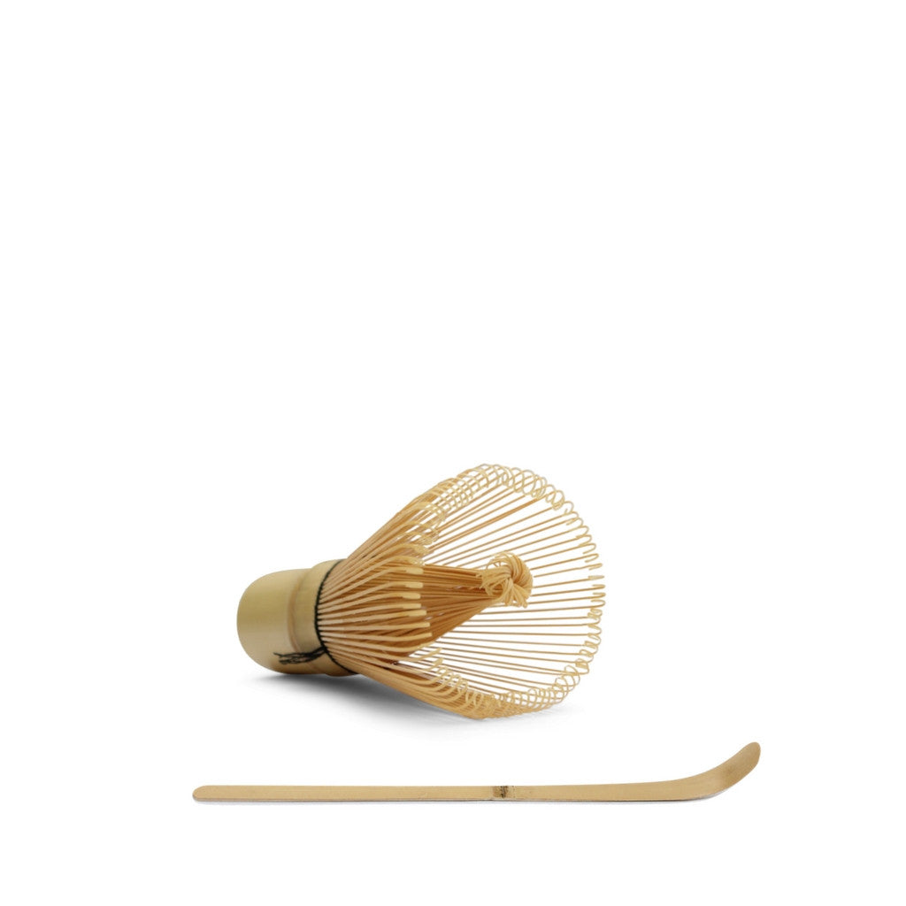 Bamboo Matcha Whisk And Scoop Bundle