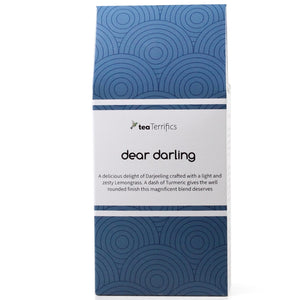 Dear Darling Tea Bags - Darjeeling, Turmeric & Lemongrass