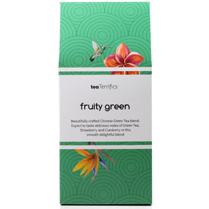 Fruity Green Tea - 17 Biodegradable Tea Bags