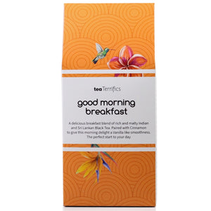 Good Morning Breakfast Tea Bags - Wake Up To The Taste Of New York