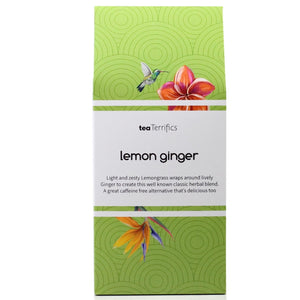 Lemon Ginger Herbal Infusion Tea Bags