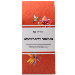 Strawberry Rooibos  - 17 Biodegradable Tea Bags