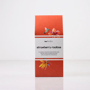 strawberry rooibos tea