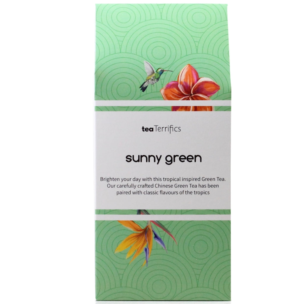 Sunny Green Tea - 17 Biodegradable Tea Bags