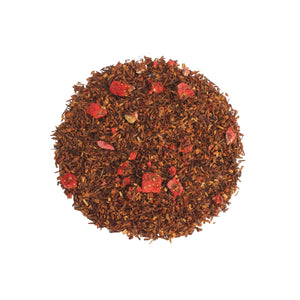 strawberry rooibos loose leaf tea