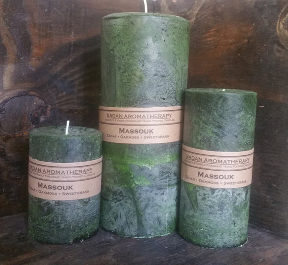 Massouk Candle Collection