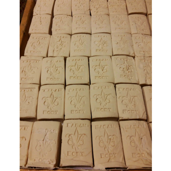 Badan Body Castile Olive Oil Soaps, Unscented and ready to wrap.