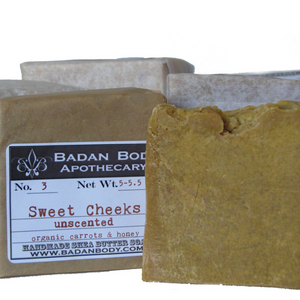 Sweet Cheeks: Organic Carrot and Honey Soap