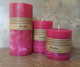 Alma Pillar Candle Set of 3
