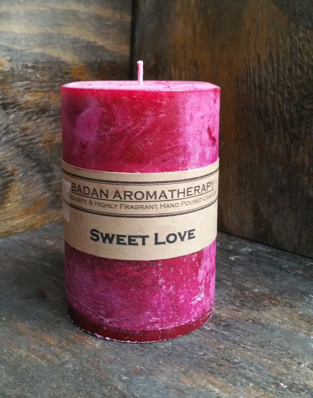 Sweet Love Pillar Candle Collection - BadanBody