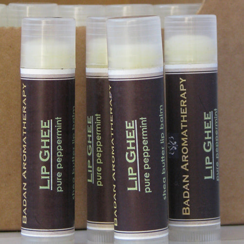 Organic Peppermint Lip Ghee Moisturizer for Dry Lips
