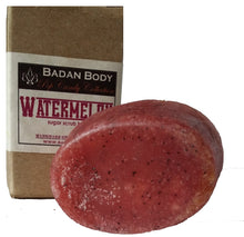 Watermelon Sugar Scrub Soap - BadanBody