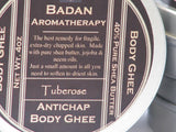TUBEROSE Body Butter Ghee Natural & Organic - Intensive Moisturizer for Dry Skin