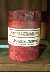 Candles: Fragrant Dark Red Cranberry Pomegranate Cinnamon & Clove Pillar Candles As Seen In Etsy Finds