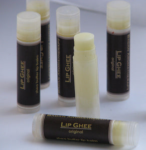 Lip Butter (Ghee) Healing & Natural - Intensive Moisturizer for Dry Lips