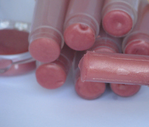 Faeiry Dust Bubblegum Pink Tinted Lip Butter: Healing Organic Natural - Intensive Moisturizer for Dry Lips