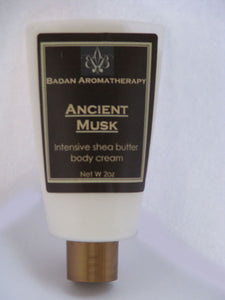 Ancient Musk Intensive Shea Butter Body & Hand Cream 2oz Travel Size