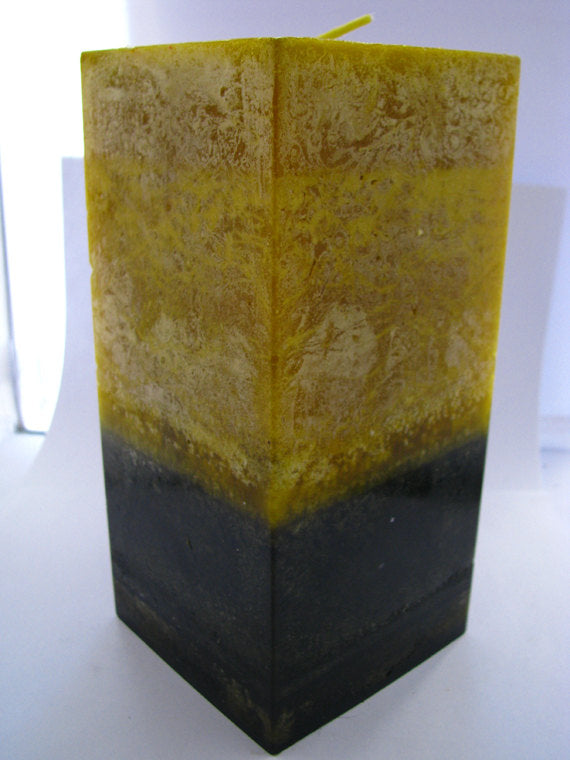 Verbena Earth Fragrant Pillar Candle - Square 3