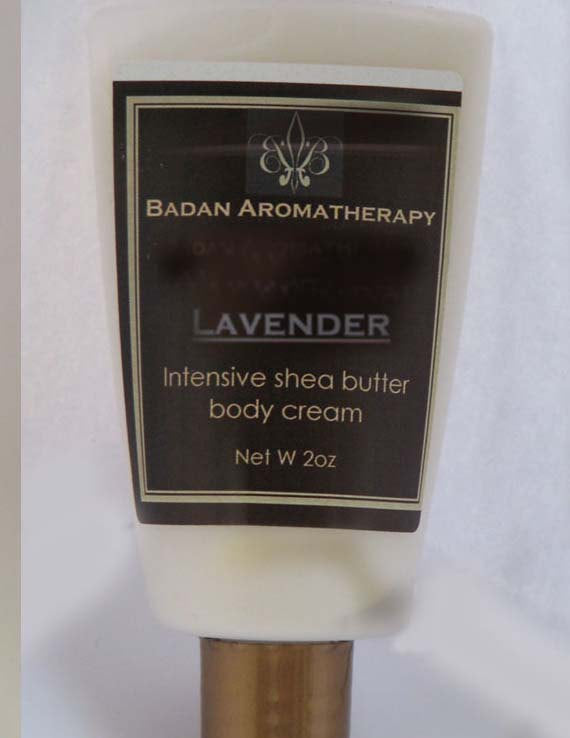 Lavender Body Cream: 2oz  Lavender Intensive Shea Butter Body Cream