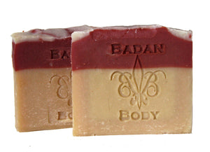 Fresh Raspberry Soap - Natural Handmade Soap, Shea Butter Soap, Moisturizing Soap Limited Edition