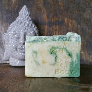 Badan Lumberjack: Fir Needle Pine  & Bayberry Handmade Shea Butter Soap