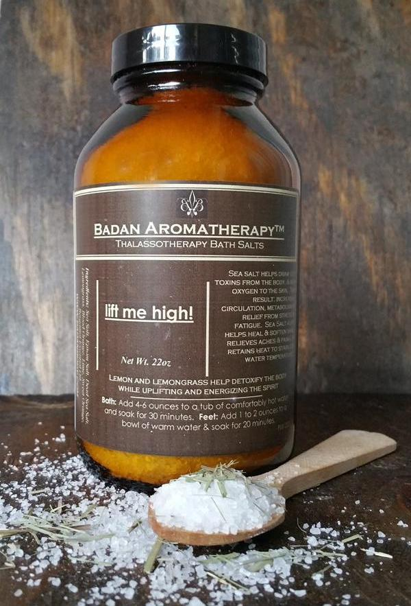 Lift Me High! Energizing Bath Salts