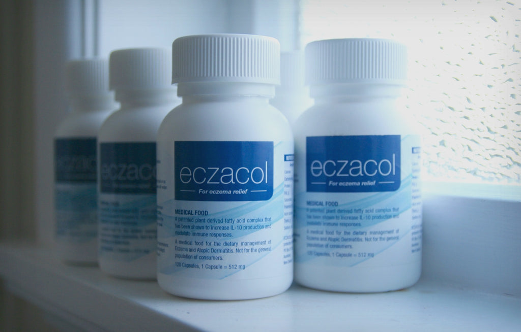 Medical Suplement - ECZACOL    2 Months Supply   (240 Capsules)