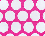 Large Dottie Candy Pink/White