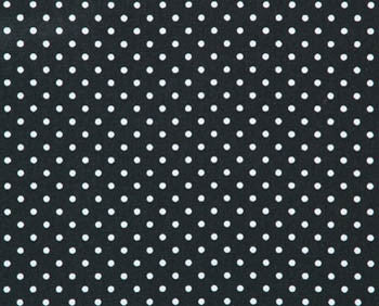 Spottie Black/White Swatch
