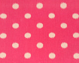 Brat Dots Gumdrop Pink/Natural Swatch