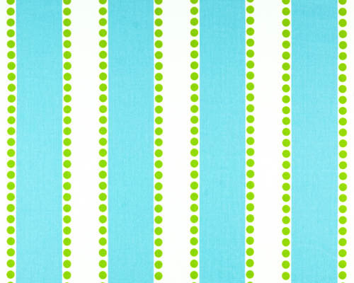 Lucy Girly Blue/Chartreuse Twill Swatch