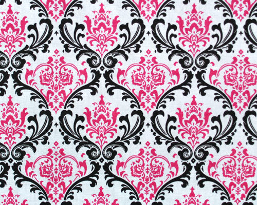 Maddy Black/Candy Pink Swatch