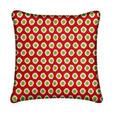 Christmas Wrapping Paper Throw Pillow 18""