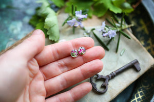 Handmade jewellery dainty earrings
