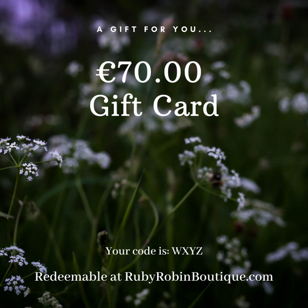 Digital Gift card: €70.00