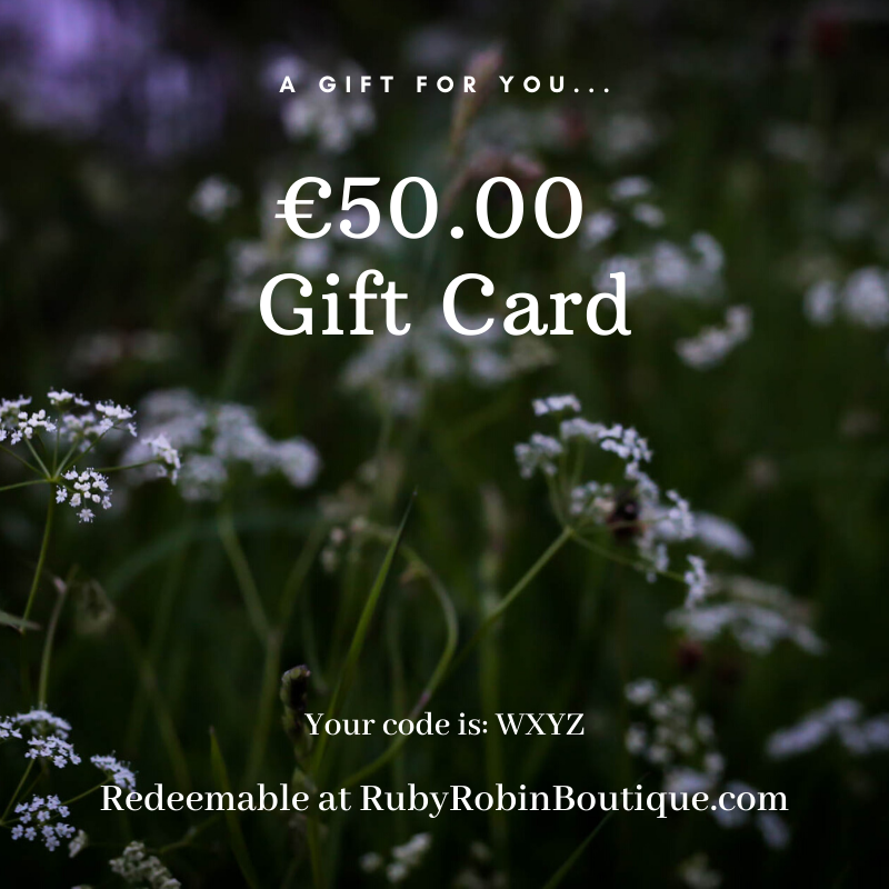 Digital Gift card: €50.00