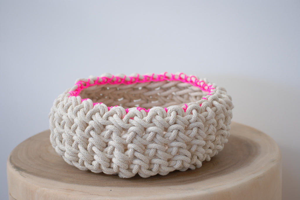 Crochet Bowl - Small