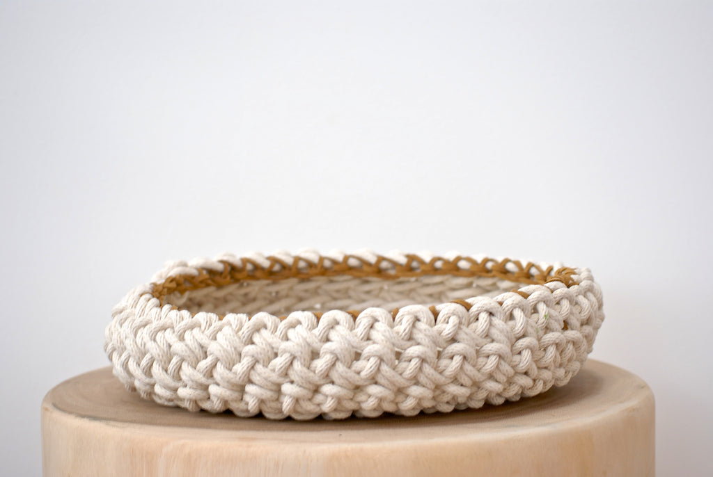 Crochet Bowl - Medium