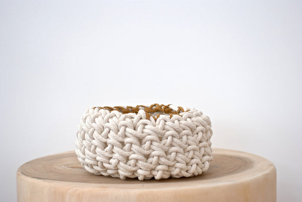Crochet Bowl - Mini