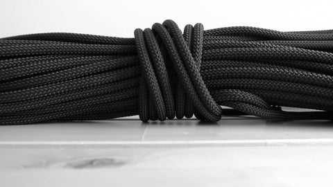 6mm Macrame Rope - Black