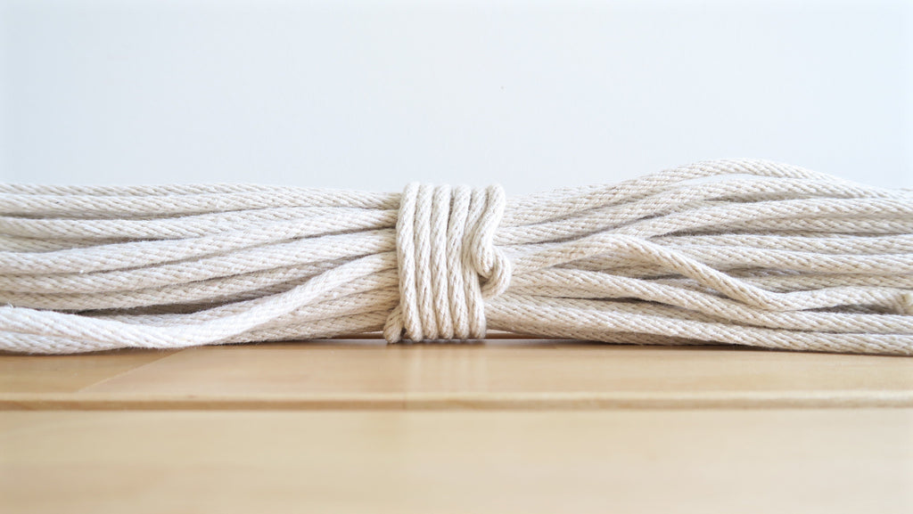 4mm Macrame Rope - White