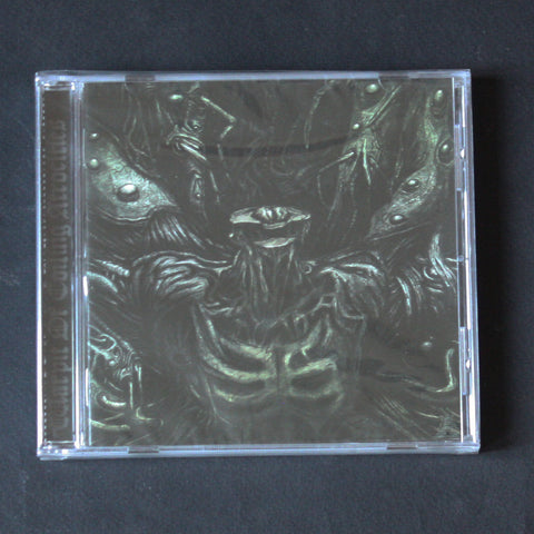 "ADVERSARIAL / PAROXSIHZEM ""Warpit Of Coiling Atrocities"" CD"