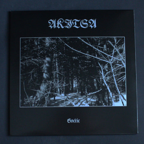 "AKITSA ""Goétie"" Double 12""LP"