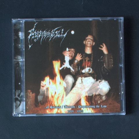 "ASARADEL ""...Of Sathanas / Avernus / Perpetuating The Law"" CD"
