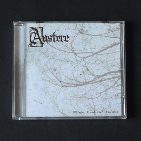 "AUSTERE ""Withering Illusions and Desolation"" CD"