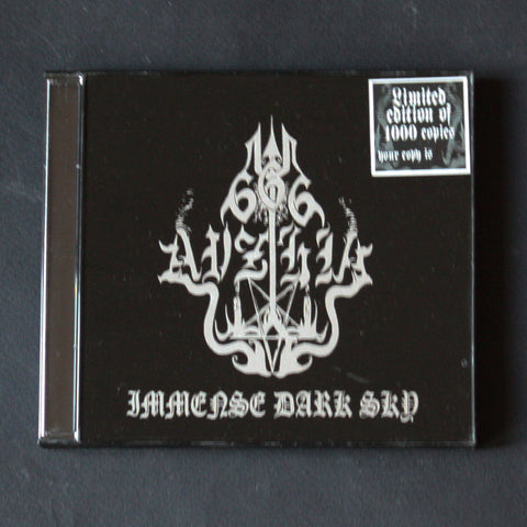 "AVZHIA ""Immense Dark Sky"" CD"